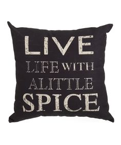 'Live Life' Pillow @scrapwedo