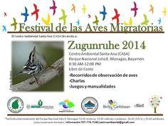 Zugunruhe 2014- Festival de Aves Migratorias. Sábado 25 de octubre. 8AM-12 PM. Parque Julio E Monagas, Bayamón. #BirdDay  Zungunruhe 2014- International Migratory Bird Festival. Saturday, Oct. 25th. 8am-12pm. Julio E. Monagas, Bayamón National Park.