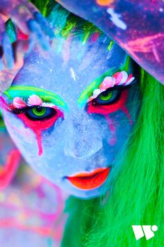 Blacklight Session 1 by Willi Rudolph, via Behance