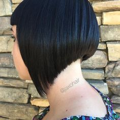 Gorgeous haircut by @jaxohair  #undercut #bob... - go shorter