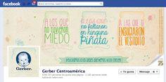 Facebook Cover Día Internacional de la Mujer 2013  Cliente: Gerber Centroamérica