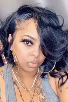 Cute Bob Hairstyles, Easy Hairstyles For Long Hair, Black Women Hairstyles, Wig Hairstyles, Straight Hairstyles, Quick Weave Hairstyles, Short African American Hairstyles, Elegant Hairstyles, Short Hair Styles Easy