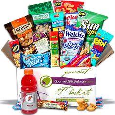 Sports Enthusiast Care Package by GourmetGiftBaskets.com