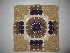"Ravelry: Versailles - 12"" Square pattern by Melinda Miller.  Free Pattern."