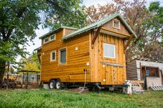 MitchCraft Tiny Homes 18ft THOW. Wow!