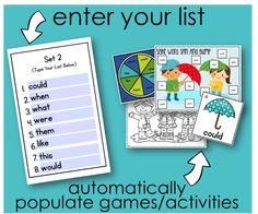 """Super Simple """"Edit It"""" Sight Word Activities - Differentiated Kindergarten"""