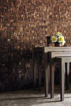 Bark Mosaic Tiles - Wooden Bark