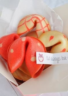 7. #Fortune Cookies - Top 21 Most Romantic #Birthday Gifts for Your Man! ... → Love #Romantic