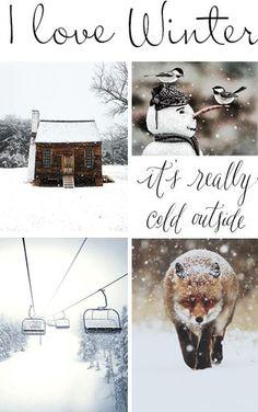 moodboard - winter