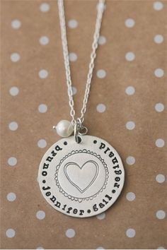 LOVE!! $25.50 when you use code summer15 at checkout! http://www.lisaleonardonline.com/brave-love-necklace-P386C26.aspx