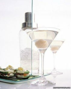 Lychee Martinis Recipe