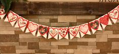 Excited to share this item from my shop: Valentine's Day Banner/Party Supplies/Valentines Day/Party Banner/ Banner Valentine Banner, Valentines Day Party, Heart Banner, Flag Background, Verses For Cards, Beautiful Notes, Kids Party Supplies, Classroom Decor, Paper Goods