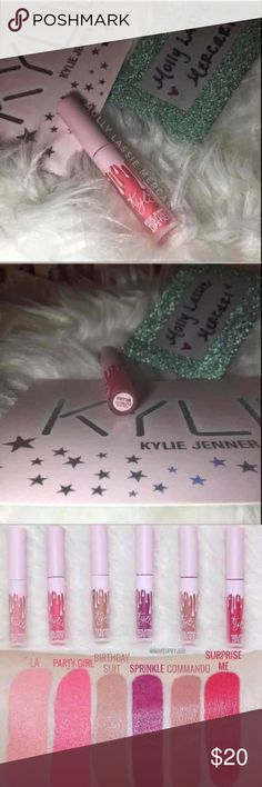KYLIE PARTY GIRL VELVET LIQUID LIPSTICK ✖️ KYLIE COSMETICS BY KYLIE JENNER ✖️                        ➖ AUGUST 2017  ➖ ✖️ BIRTHDAY EDITION LIQUID LIPSTICK ✖️  ✖️ COLOR : PARTY GIRL                              — Velvet ✖️  ♥️ FAST SHIPPING ♥️     • I ship within 24 hours of payment received •   ➖➖➖➖➖➖➖➖➖➖➖➖➖➖➖ THIS LISTING IS FOR ONE LIPSTICK ONLY!!! ➖➖➖➖➖➖➖➖➖➖➖➖➖➖➖   * all photos taken by me, of the ACTUAL item you will receive! * Kylie Cosmetics Makeup Lipstick