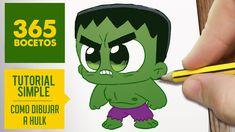 COMO DIBUJAR HULK KAWAII PASO A PASO - Kawaii facil - How to draw Hulk. Como dibujar a Hulk como dibujos kawaii faciles es el tema de nuestro vídeo de hoy. How to draw Hulk is the point of this video. is the point of this video. Dibujar a Hulk paso a Cute Cartoon Drawings, Kawaii Drawings, Disney Drawings, Easy Drawings, 365 Kawaii, Hulk Birthday Parties, Hulk Party, Iron Man Wallpaper, Bts Wallpaper