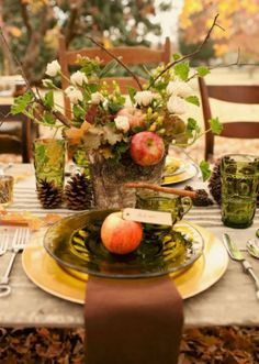 Five Tablescapes To Inspire You For Rosh Hashanah – Kveller