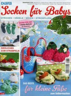 Diana Special - Socken für Babys D 2462   Martinas Bastel- & Hobbykiste