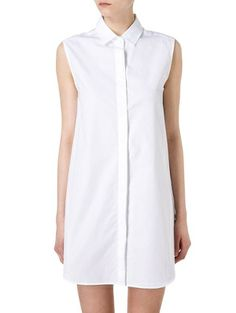 Robe chemise blanche J.W. Anderson