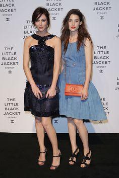 The Little Black Jacket Exhibition, Anna Mouglalis & Astrid Frisbey