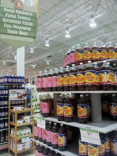 Julian Gomez  Punta de gondola de Colombiana y Manzana postobon en supermercado Publix en USA. Viva el tratado de libre comercio USA - COLOMBIA