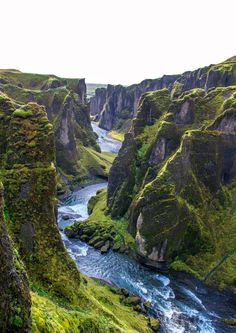 Cold clear glacial melt water carving away ages old stone. Glacier, Going On A Trip, Beautiful Places In The World, Amazing Places, Iceland Travel, Fantasy Landscape, Amazing Nature, Cool Places To Visit, Travel Inspiration