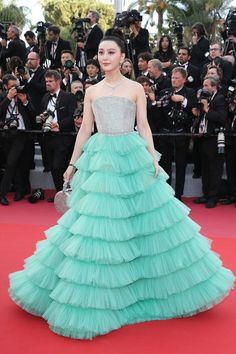 Fan Bing Bing | Scroll through and see the best fashion moments from the 71st Cannes International Film Festival.