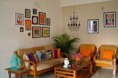 Design Decor & Disha: Indian Art Gallery Wall Reveal, Wall Decor, Indian Wall Decor, Indian Decor, Indian Folk Paintings Source by Home Decor Indian Home Design, Indian Interior Design, Indian Room Decor, Ethnic Home Decor, Asian Home Decor, Indian Bedroom, Indian Living Rooms, My Living Room, Living Room Decor