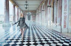 DIOR 'SECRET GARDEN 2 - VERSAILLES' AD CAMPAIGN Daria Strokous, Diana Moldovan & Katlin Aas by Inez & Vinoodh