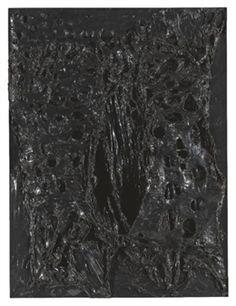 Nero Plastica By Alberto Burri ,1965