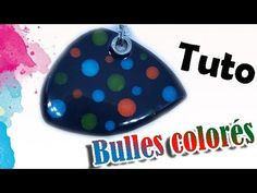 TUTO FIMO/POLYMÉRE: BULLES COLORÉE | PolymerClay Tutorial Colorful bubbles - YouTube
