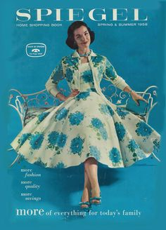 Fashion in 1958...i wanted everything in this catalogue...it was so much more sophisticated than Sears or Monkey Wards!