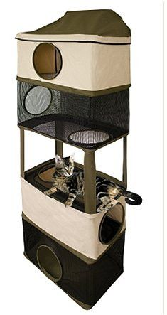Hanging Hideout Cat Tower
