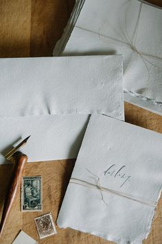 Sea Grey Handmade Paper Stationery Set - earthy accents