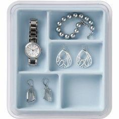 Jewelry Stax - 5 Compartment, Light Blue | The Organizing Store | http://theorganizingstore.com/neatnix.html