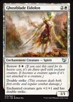 Magic: the Gathering - Ghostblade Eidolon (070/342) - Commander 2015 * Unbelievable offers are coming! : FREE Toys and Games