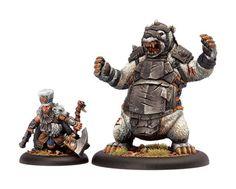 Hordes Minions Brun Cragback & Lug BOX