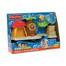 "Fisher-Price Little People Splash 'n Scoop Bath Bar - Fisher-Price - Toys ""R"" Us"
