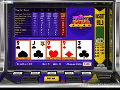 You like to play free casino games? How about 103 Video Poker? >> jackpotcity.co/free-video-poker.aspx