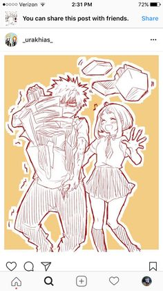 Kacchako | she attacked when he least expected it. XD