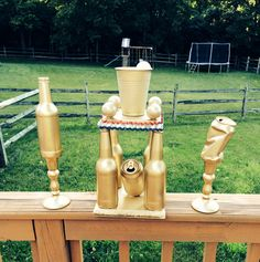 Beer Olympic trophy! 1st 2nd & 3rd