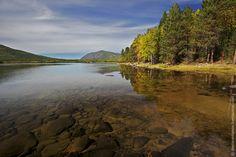Purest fresh water of lake Baikal, Siberia, Russia.