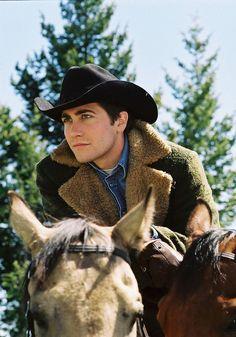 Jake Gyllenhaal in Ang Lee's Brokeback Mountain (2005)
