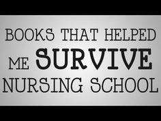 Nursing School | Books That Helped Me Survive - YouTube