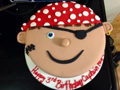 Pirate Face Cake