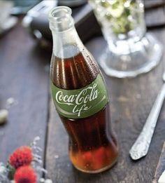 Coca-Cola Life glass bottle