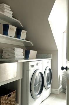 Attic laundry room f