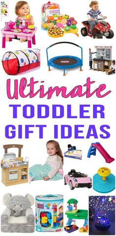 BEST Gifts For Toddlers! Top gift ideas that boys and girls will love! Find presents that kids want - from learning toys to educational gifts to award winning toys and more! Find age appropriate toys for toddlers. Great ideas for birthday gifts and Christmas gifts. Get children the toy of the year to celebrate their 1st years. Shop the best toys for toddlers now - from ride on toys to developmental toys to Melissa and Doug find the best selling toys. #christmasideasforkids