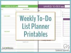 Keep It Simple With A Weekly Overview Planner  We Track And The