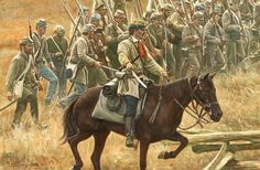 Garnett Brigade to Gettysburg. General Garnett was killed leading his brigade and his body was never recovered. Many years later, his sword was purchased in a Baltimore pawn shop.