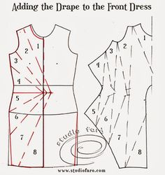 well-suited: Pattern Puzzle - Jersey Twist Dress