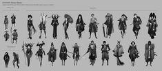 Character Thumbnail Process, Cecilia Daude on ArtStation at https://www.artstation.com/artwork/character-thumbnail-process
